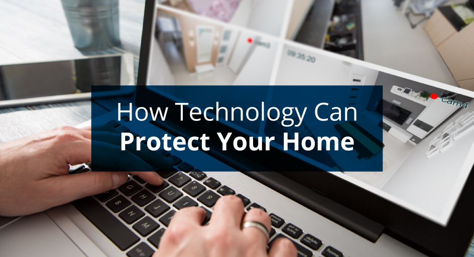 blog image of a home security camera system